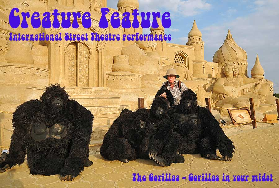 Creature Feature - Gorillas in your midst